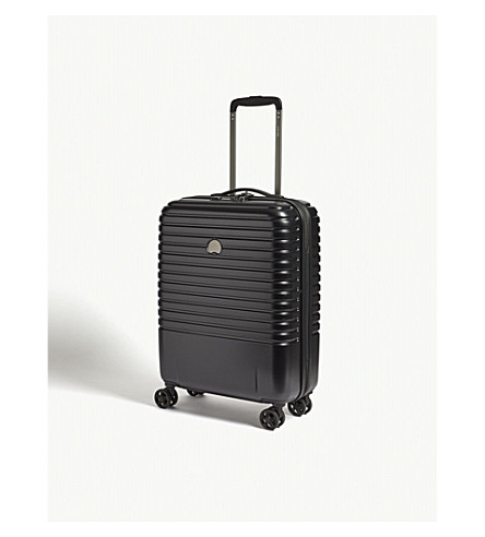 DELSEY Caumartin Plus four-wheel spinner suitcase 55cm (Black
