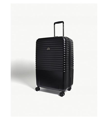 DELSEY Caumartin Plus four-wheel spinner suitcase 70cm (Black