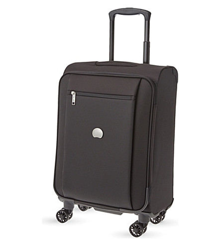 DELSEY Montmarte Pro four-wheel cabin suitcase 55cm (Black