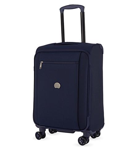 DELSEY Montmarte Pro four-wheel cabin suitcase 55cm (Blue