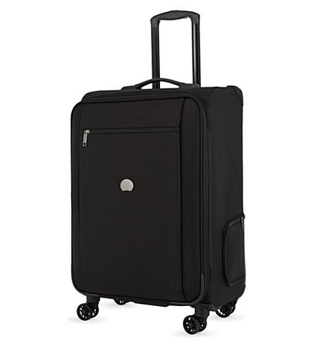 DELSEY Montmartre Pro four-wheel expanding suitcase 65cm (Black