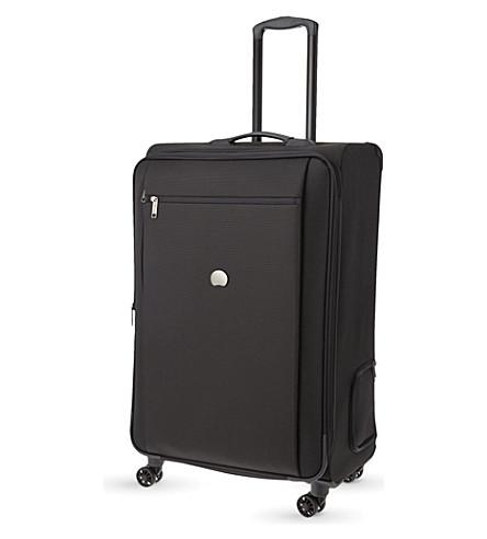 DELSEY Montmartre Pro four-wheel expanding suitcase 77cm (Black
