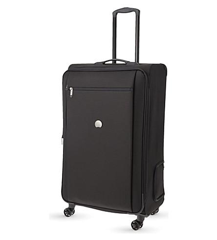 DELSEY Montmartre Pro four-wheel expanding suitcase 82cm (Black