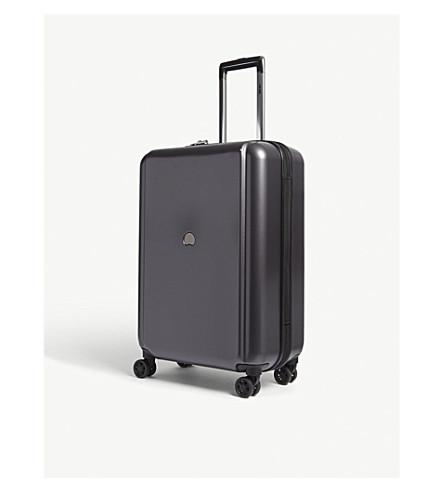 DELSEY Pluggage trackable 4-wheel suitcase 65cm (Black