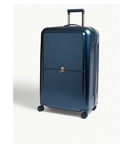 DELSEY Turenne four-wheel suitcase 75cm (Night+blue