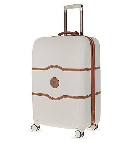 DELSEY Chatelet Hard + four-wheel suitcase 67cm (Angora