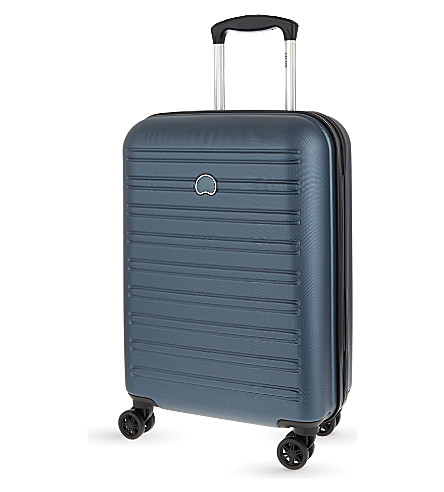 DELSEY Segur four-wheel suitcase 55cm (Blue