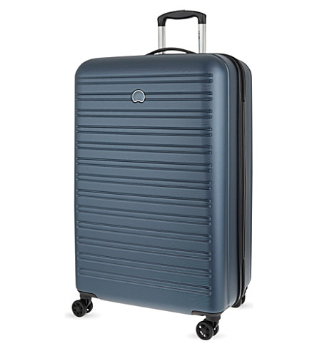 DELSEY Segur four-wheel suitcase 78cm (Blue