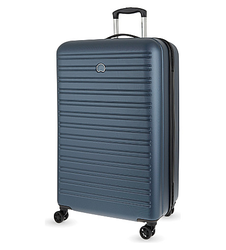DELSEY Segur four-wheel suitcase 82cm (Blue