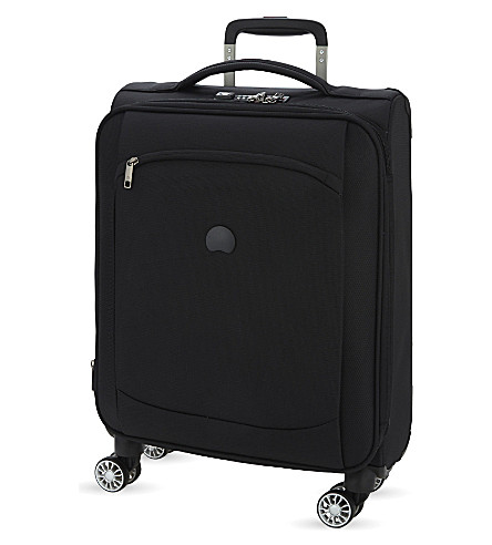 DELSEY Montmartre Air four-wheel expandable cabin suitcase (Black