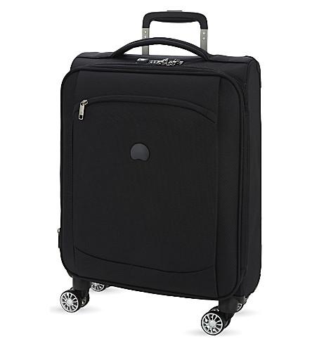 DELSEY 蒙马特式空气四轮可扩展客舱手提箱 (黑色