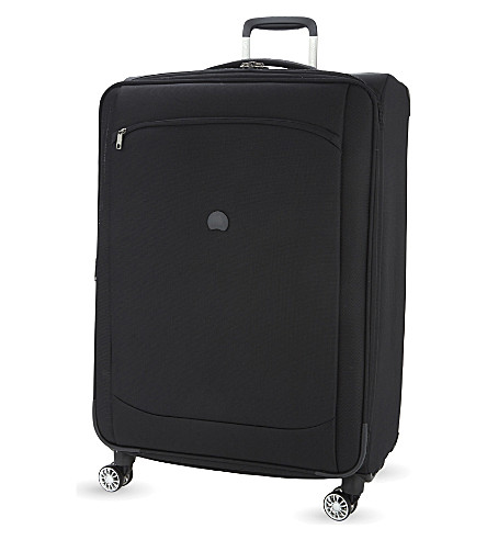 DELSEY Montmartre air four-wheel spinner suitcase 68cm (Black