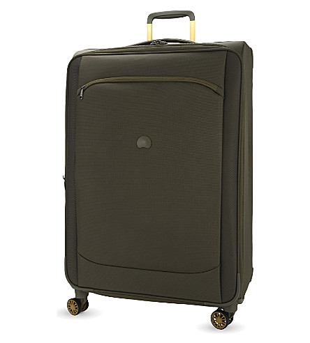 DELSEY Montmartre air four-wheel spinner suitcase 68cm (Iguana