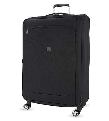 DELSEY Montmartre air four-wheel spinner suitcase 77cm (Black