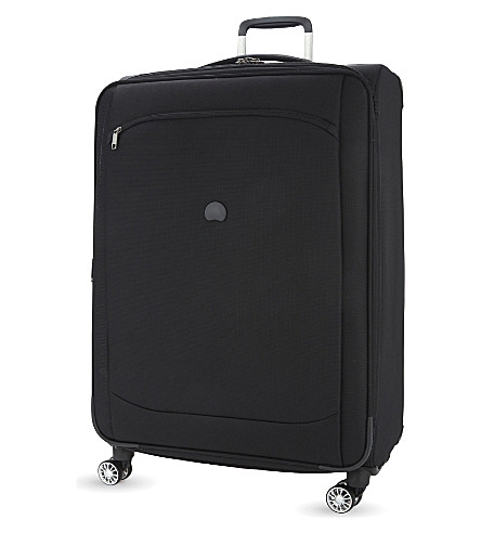 DELSEY Montmartre air four-wheel spinner suitcase 71cm (Black