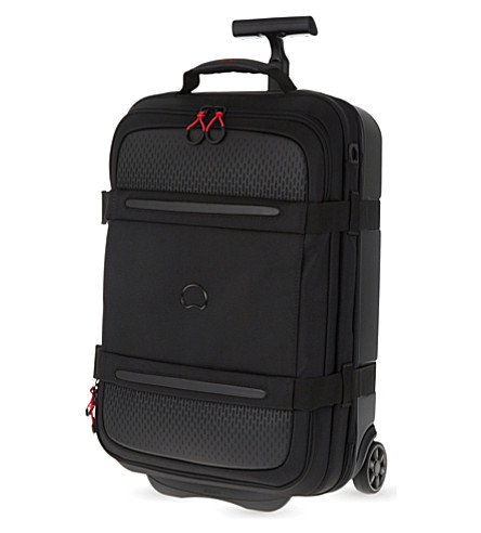 DELSEY Montsouris two-wheel cabin suitcase 55cm (Black