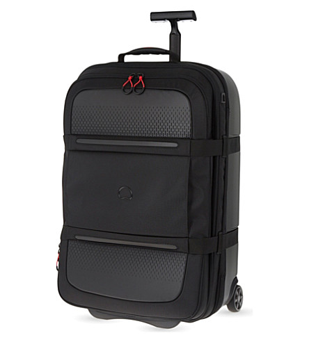 DELSEY Montsouris two-wheel expanding suitcase 68cm (Black