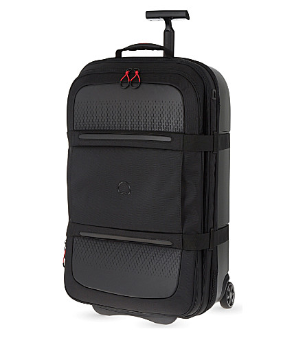 DELSEY Montsouris two-wheel expanding suitcase 78cm (Black