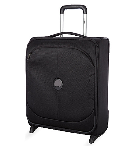 DELSEY U-Lite Classic two-wheel slim cabin trolley case 50cm (Black