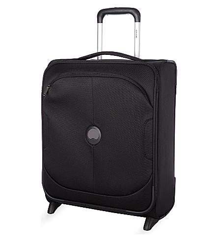 DELSEY U-Lite Classic two-wheel slim cabin trolley case 50cm (Black