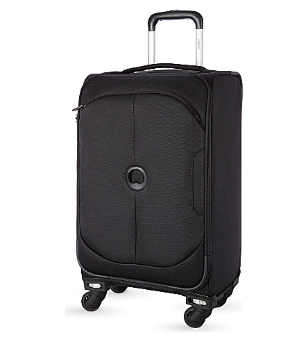 DELSEY U-Lite Classic four-wheel cabin trolley case 60cm (Black