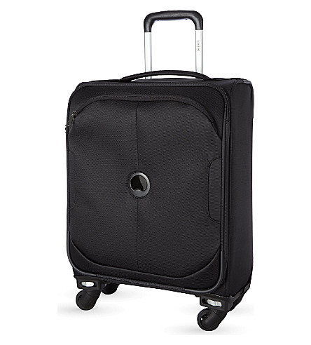 DELSEY U-Lite Classic four-wheel cabin trolley case 55cm (Black