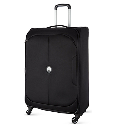DELSEY U-Lite Classic four-wheel expandable trolley case 78cm (Black