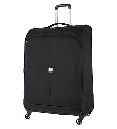 DELSEY U lite class four-wheeled trolley suitcase 83cm (Black