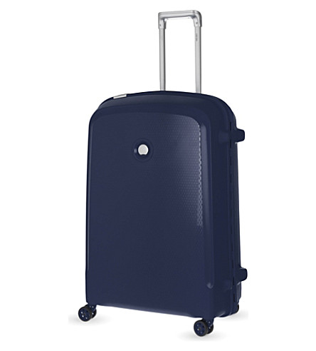 DELSEY Belfort Plus four-wheel case 76cm (Blue