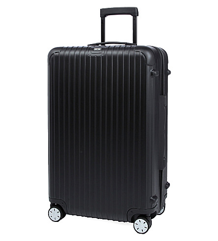 RIMOWA Salsa four-wheel spinner suitcase 74cm (Black