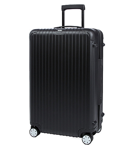 RIMOWA Salsa four-wheel spinner suitcase 74cm (Matte+black