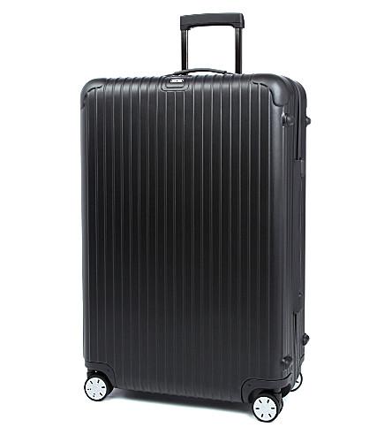 RIMOWA Salsa Spinner suitcase 81.5cm (Matte+black