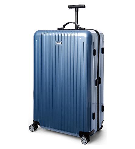 RIMOWA Salsa Air four-wheel spinner suitcase 74cm (Ice+blue