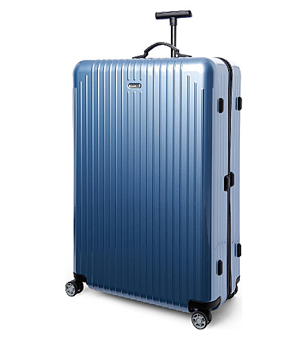 RIMOWA Salsa Air four-wheel suitcase 81.5cm (Ice+blue
