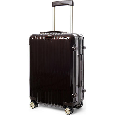 RIMOWA Salsa Deluxe IATA four-wheel cabin suitcase 55cm (Brown