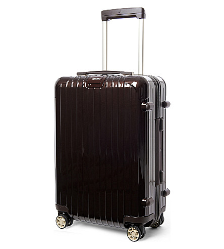 RIMOWA Salsa Deluxe IATA four-wheel cabin suitcase 55cm (Brown