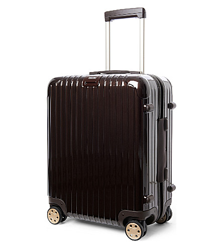 RIMOWA Salsa Deluxe four-wheel cabin suitcase 56cm (Brown