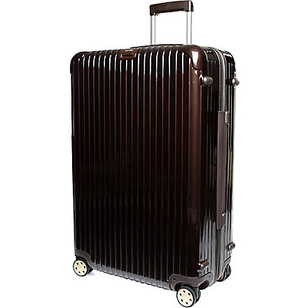 RIMOWA Salsa Deluxe four-wheel suitcase 81cm (Brown