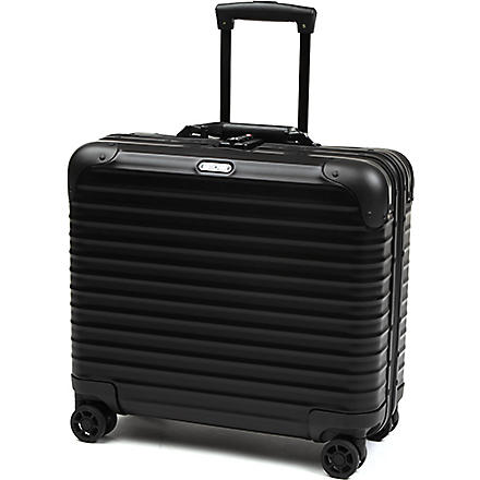 RIMOWA Topas Stealth four-wheel business trolley (Black