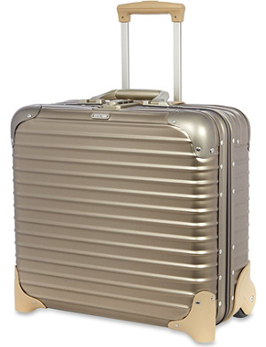 RIMOWA Topas titanium two-wheel business trolley 42cm