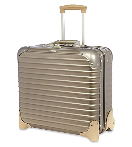 RIMOWA Topas titanium two-wheel business trolley 42cm (Titanium