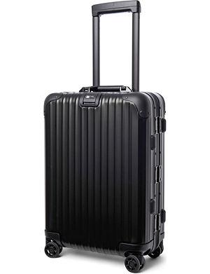 RIMOWA Topas Stealth IATA four-wheel cabin suitcase 55cm