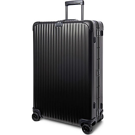 RIMOWA Topas Stealth four-wheel suitcase 81.5cm (Black
