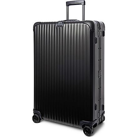 RIMOWA Topas Stealth four-wheel suitcase 81.5cm (Black