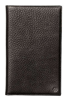 DOM REILLY Leather travel wallet
