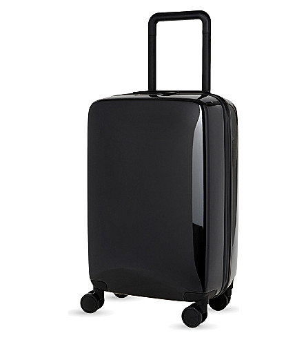 RADEN The a22 four-wheel cabin suitcase 56cm (Black+gloss
