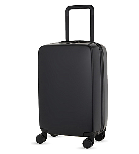 RADEN The a22 four-wheel cabin suitcase 56cm (Black+matte