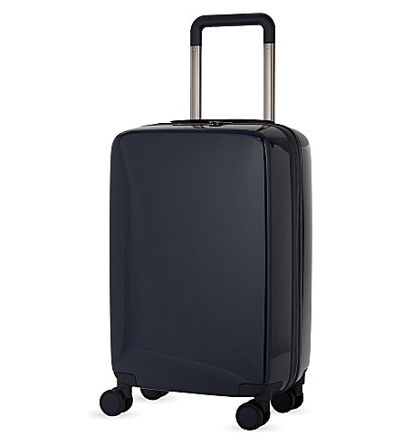 RADEN The a22 four-wheel carry suitcase 55cm (Navy+gloss