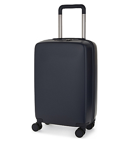 RADEN The a22 four-wheel cabin suitcase 56cm (Navy+matte