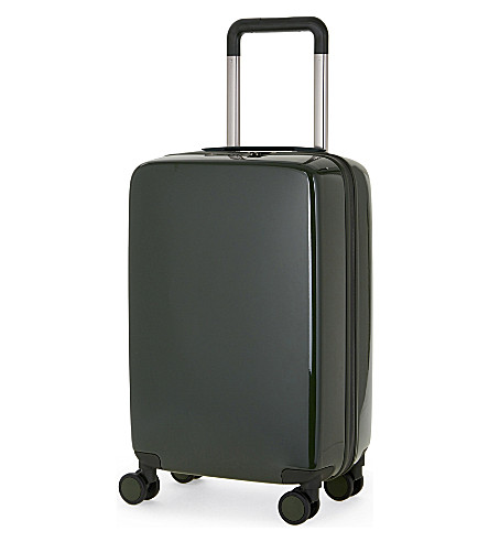 RADEN The a22 four-wheel cabin suitcase 56cm (Hunter+green+gloss
